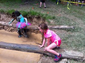 Mud Ninja daughter