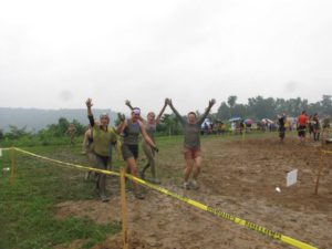 OCR race in the rain
