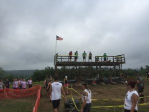 Mud Ninja American Ninja Warrior obstacle