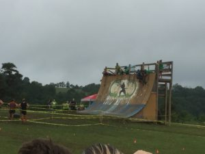 Mud Ninja Warped Wall obstacle