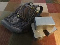Rucking Gear - backpack and bricks