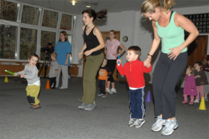 parents and kids fitness